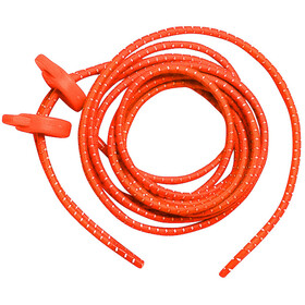 Zone3 Elastic Laces, neon orange